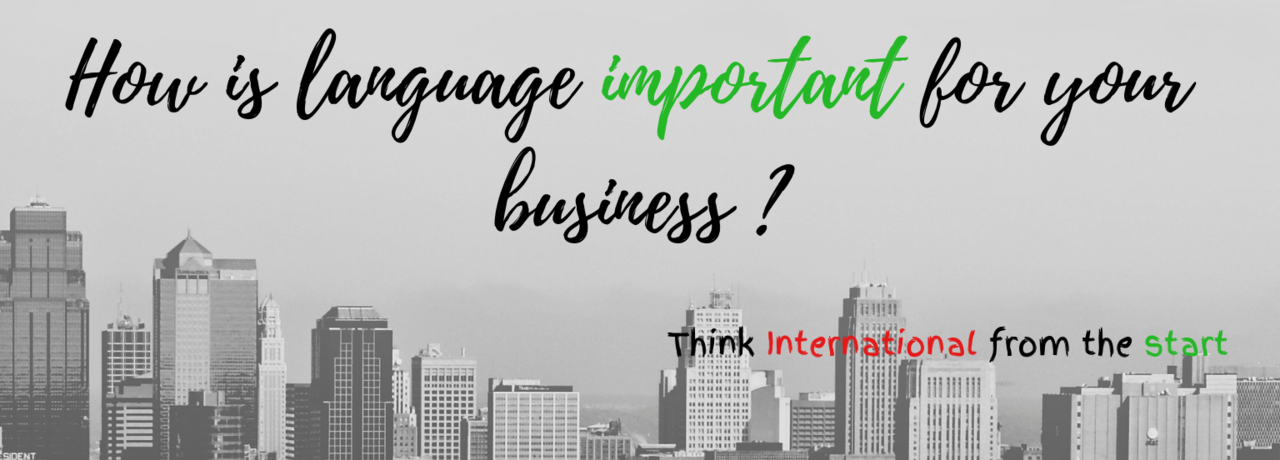 header how is language important for your business