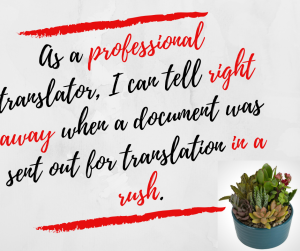 Is your document ready for translation